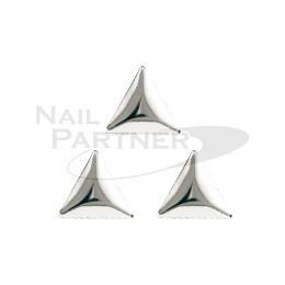CLOU 鉚釘 2mm 三角形 銀色 (100粒)