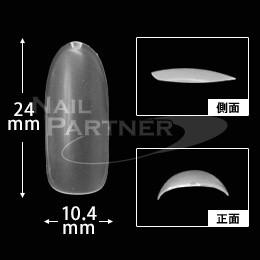 NFS 魅力圓型甲片-透明#8(50片)