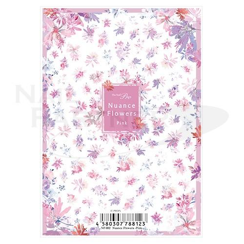 Sha-Nail 貼紙 Pro NF-002 (Nuance Flowers-粉紅)