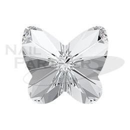 施華洛世奇 尖底 蝴蝶 5mm 水晶(4個) #4748