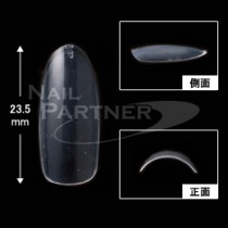 BEAUTY NAILER 特級 透明 特長圓形甲片#8