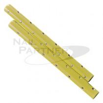 BEAUTY NAILER 凝膠筆套(2支)-粉黃色