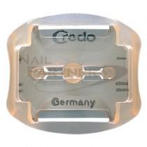 Credo 附安全裝置 硬繭刮刀替換刀片(6片)