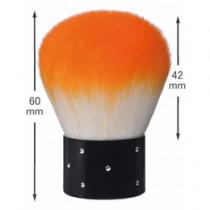 Capri 迷你粉塵刷-橙色