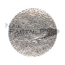 erikonail 金屬電鍍珠 銀色 ERI-120