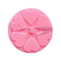 FOUR DIAMONDS 矽膠消毒杯墊-粉色