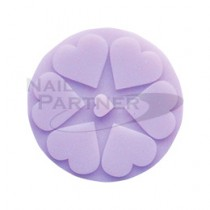 FOUR DIAMONDS 矽膠消毒杯墊-紫色