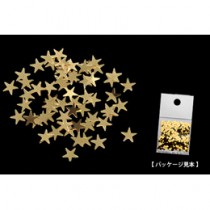 Nails Magic 閃亮星星 金色 2.5mm