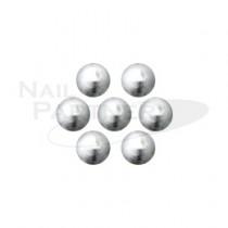 KAMI 金屬珍珠 銀色#3 1.25mm (40粒)