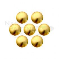 ★KAMI 金屬珍珠 金色#5 2.0mm (160粒)