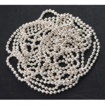 ◆Capri 電鍍珠鍊 銀色30cm (3條裝)