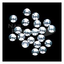 Capri 小圓珠 銀色1mm (100粒)