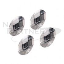 Capri 彩色水晶 橢圓 水晶4*6mm(20粒)