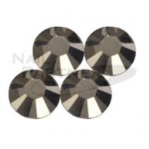 施華洛世奇 平底 水晶金屬淡金色SS12 (25粒)