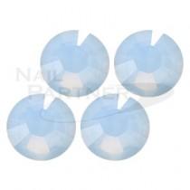 施華洛世奇 平底 霧藍蛋白SS16 (25粒)