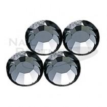 施華洛世奇 平底 黑鑽石SS3 (50粒)