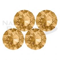 施華洛世奇 尖底 淺黃水晶SS19 (20粒) #1088