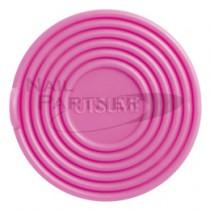 內海 消毒杯墊-牛奶粉紅