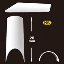 Capri 頂級法式甲片-白色(120片)