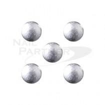 PRETTY NAIL 鉚釘 圓形-銀色 1mm (50個)