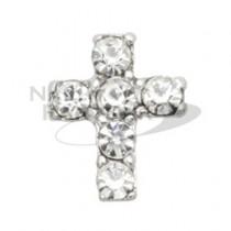★M Petit 原創美甲飾品 弧度系列 迷你十字架 A133 S*C