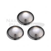 CLOU 金屬飾品 鉚釘 圓形 銀色0.8mm(100粒)