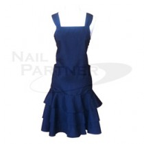 BEAUTY NAILER 沙龍用圍裙 AOS-1 黑色