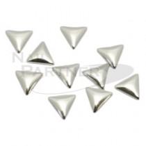 ◆M Petit 鉚釘三角形3x3mm銀(10)粒B114