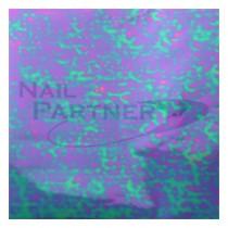 ◆Capri 轉印貼紙-綠紫#56