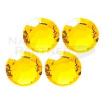 施華洛世奇 平底 黃水晶SS3 (50粒)