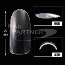 ★Capri 瘦身橢圓形甲片 超透明 #3(50枚)