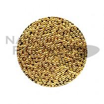 Capri 電鍍珠N 金色1mm (10g)