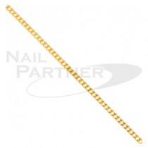 CLOU 金屬飾品 金屬鍊子 金色S(50cm/粗:1mm)