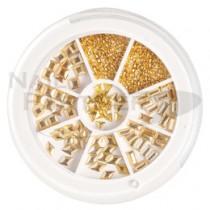 Capri 金屬飾品系列 金色 (300粒)