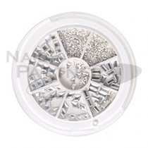 Capri 金屬飾品系列 銀色 (300粒)