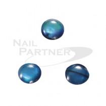 CLOU 寶石鑽飾 粉彩貝石  藍色 4mm (30粒)