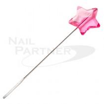 PRETTY NAIL 星星造型攪拌棒(粉紅) 10cm
