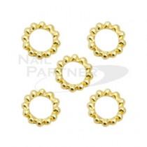 M Petit 金電鍍珠環 SS9 2.5mm(5個) B126