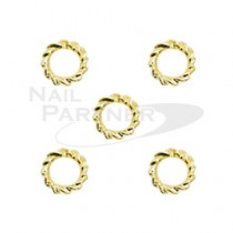 M Petit 金扭環 SS5 1.8mm(5個) B127