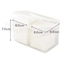 NP 清潔綿片雙口收納盒