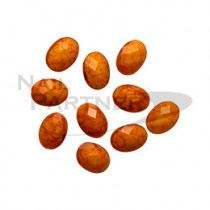 TOP LINE 古董寶石 橘 4×6mm(20個)(預購)