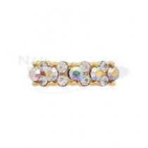 CLOU 飾品 珠寶戒環 金色極光13x3mm(1個)