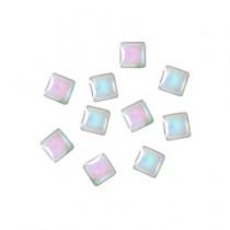 ◆M Petit 貝殼風鑽飾 B614正方型 4×4mm(20個)