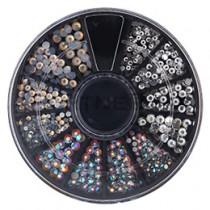 NAIL GARDEN 玻璃鑽 水晶MIX TO-224(約450顆)