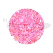 Capri 碎貝殼 #07 粉紅色
