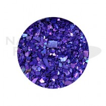 Capri 碎貝殼 #09 灰紫色