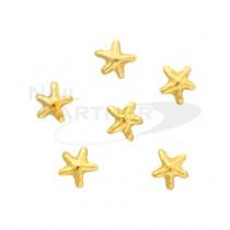 CLOU 金屬飾品  海星 金色3mm(30粒)