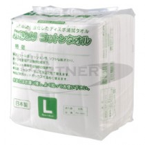 擦拭用棉紙巾 L 50枚入