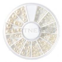 NAIL GARDEN 綜合圓型珍珠 2~5mm(12款)