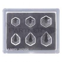 PADICO 寶石模具 多角鑽石